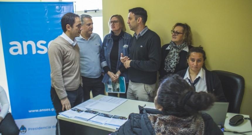 Se abrió una oficina de ANSES en el Hospital Municipal