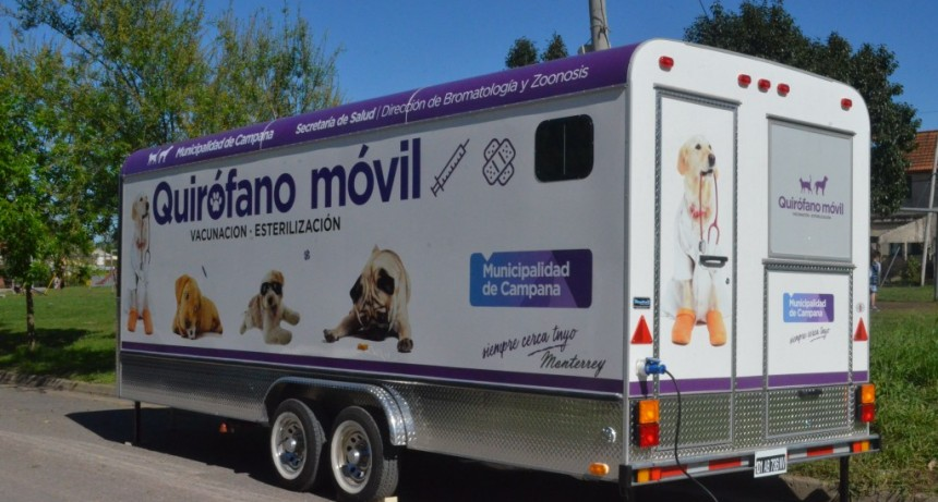 La semana que viene el quirófano móvil visitará Las Praderas
