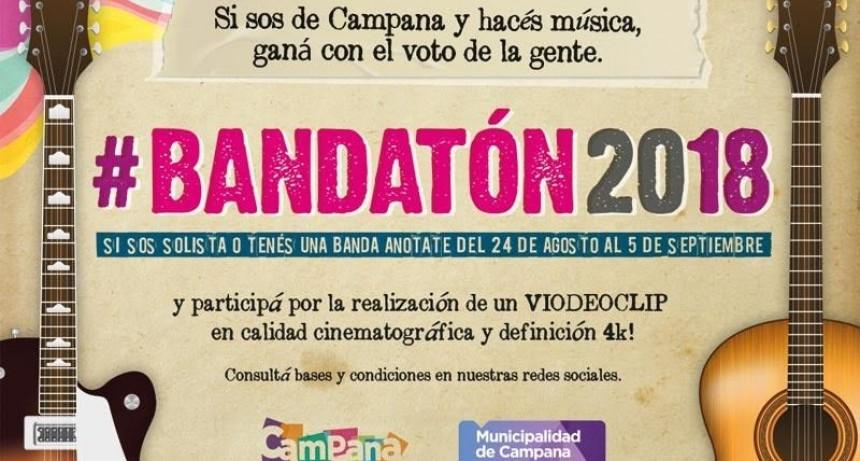 Jóvenes músicos podrán participar del primer Bandatón de Campana