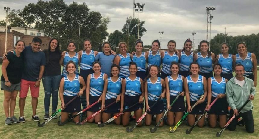 """Torneo Reubicación """"E/F"""" de Hockey femenino: El Boat Club empató como local"""