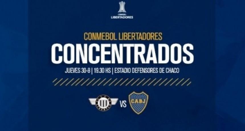 Boca Juniors va a Paraguay a cerrar su clasificaciòn