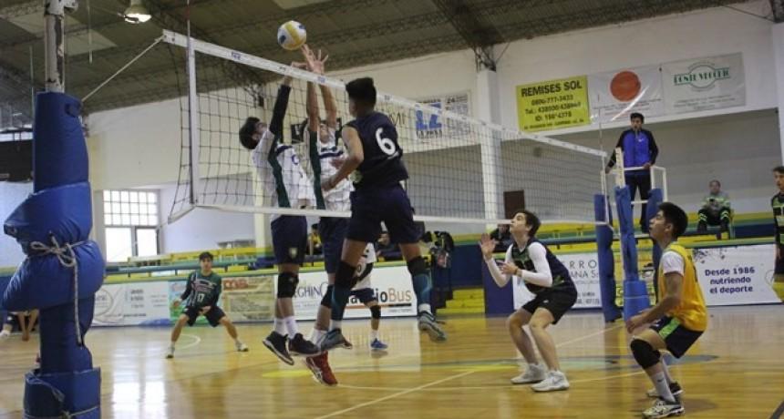 Vóley: Cinco equipos masculinos se convirtieron en finalistas de los Juegos Bonaerenses