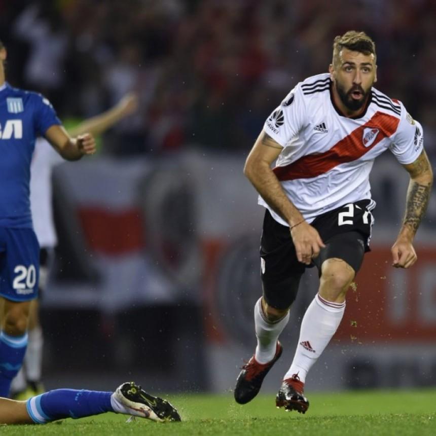 River Plate derrotó a Racing Club por 3 a 0 y avanzó a cuartos de final de Copa Conmebol Libertadores