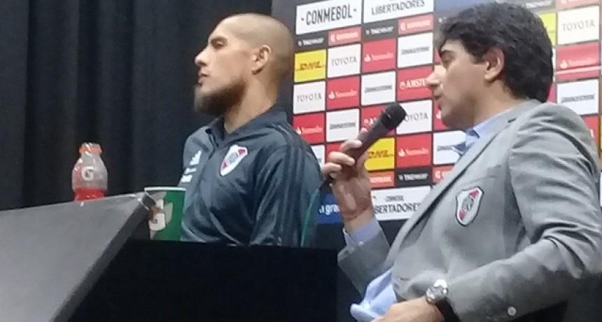 En conferencia de prensa Matìas Biscay y Jonathan Maidana analizaron la victoria