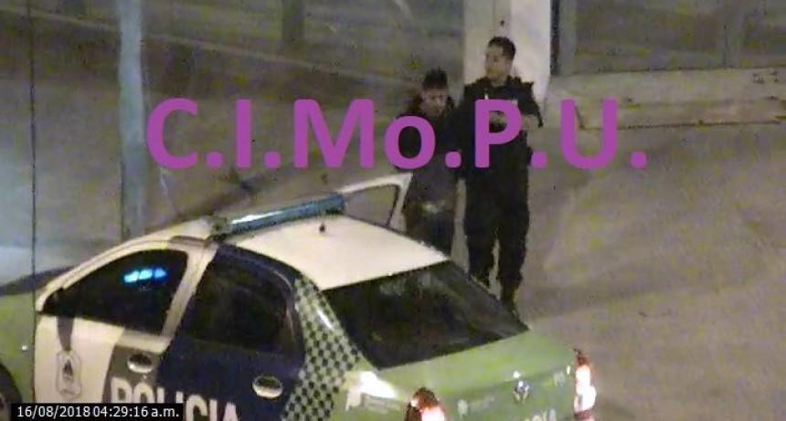 Detienen a un sujeto que había robado en una agencia de autos