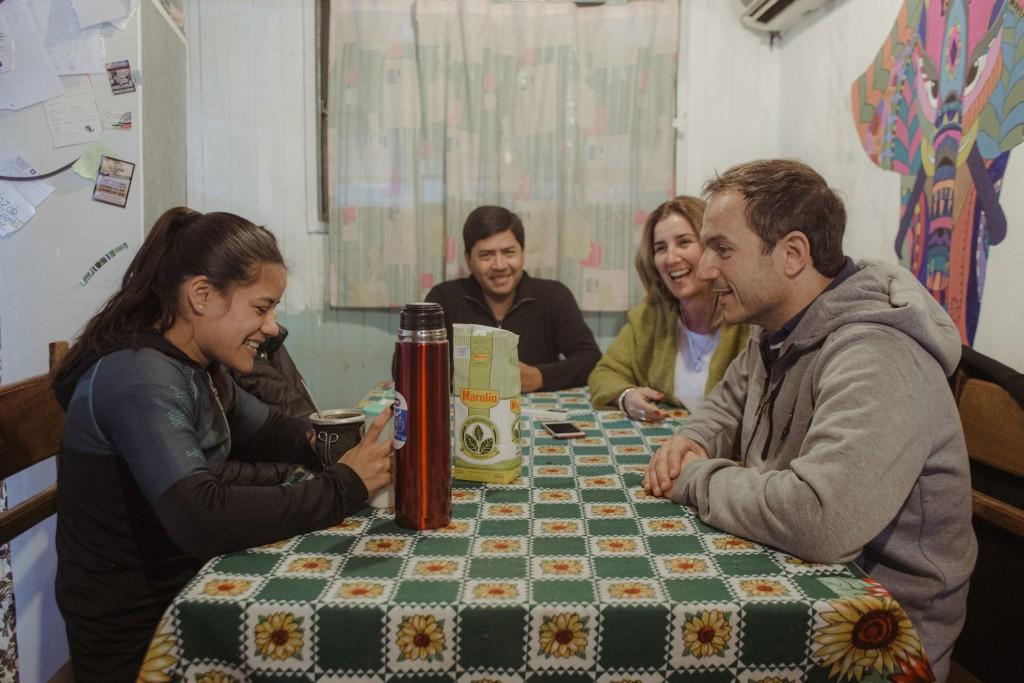 """""""La Peke"""" Espinoza recibió un mensaje de aliento de la gobernadora Vidal"""