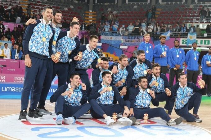 Argentina obtuvo la medalla de oro en el básquetbol masculino