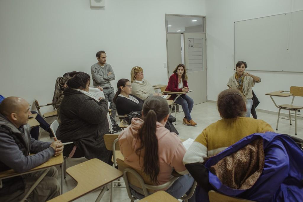El Intendente se reunió con organizaciones sociales y comunitarias