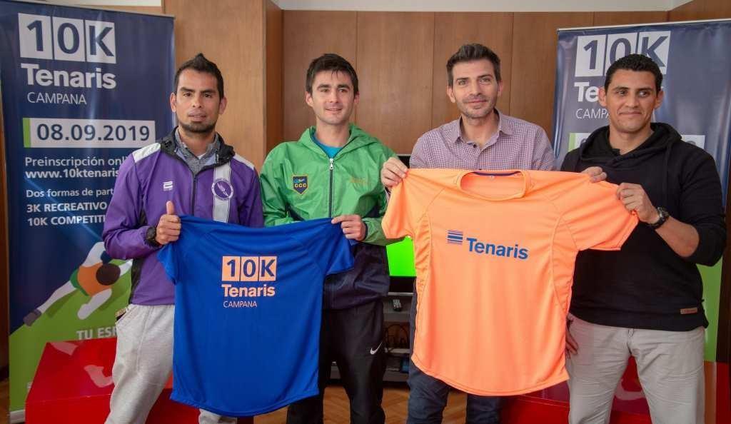 Se lanzó una nueva 10K Tenaris, la carrera más convocante de la región