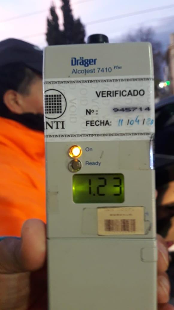 Operativos de nocturnidad: el 25% de los conductores transitan alcoholizados
