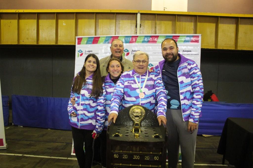 Juegos Bonaerenses: Campana logró una medalla de bronce en la final de Adultos Mayores