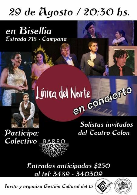 Lírica del Norte realiza Concierto en Teatro Bisellia