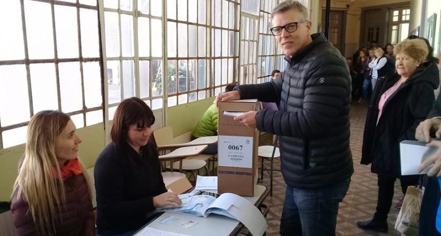 """Axel Cantlon: """"el Concejo Deliberante debe tener un equilibrio después de octubre"""""""