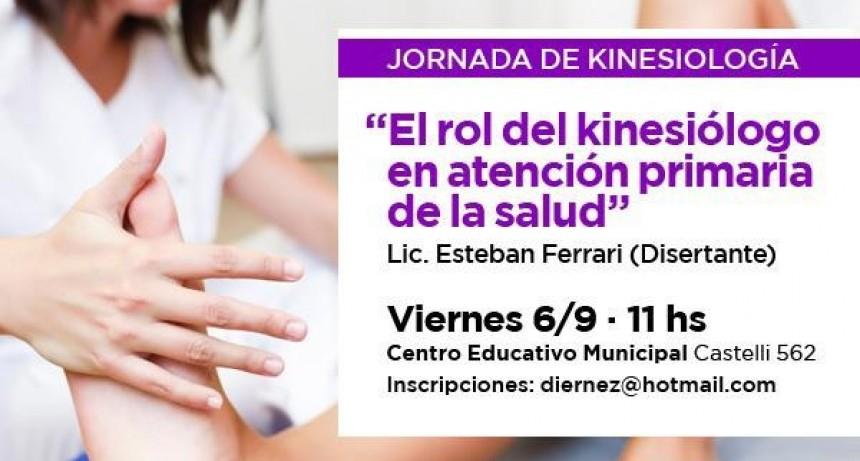Se realizará una capacitación gratuita sobre kinesiología