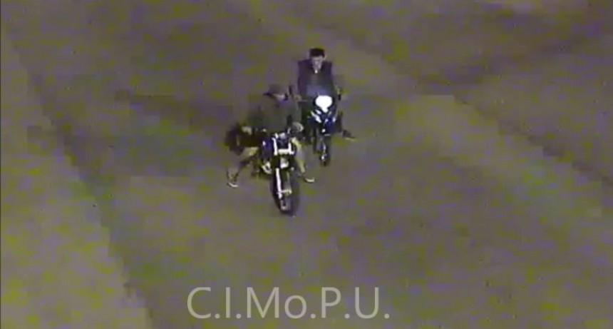 Recuperan una moto robada y detienen a los ladrones