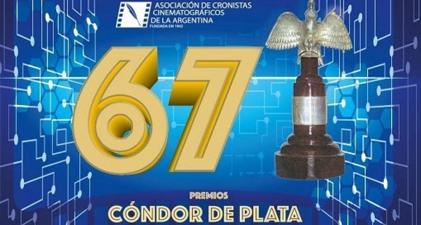 La Asociación de Cronistas Cinematográficos de la Argentina anuncia la 67º entrega de los Premios Cóndor de Plata
