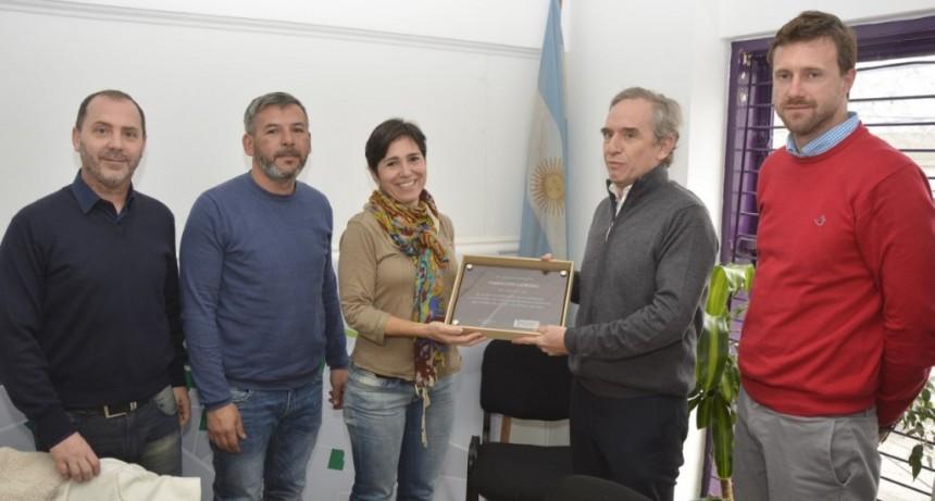 El Municipio reconoció la labor de la Fundación Campana