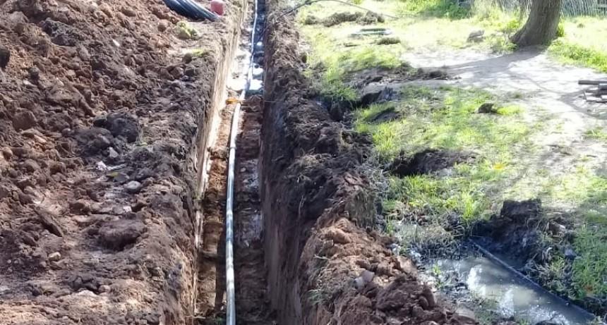 Comenzaron las obras de extensión de la red de agua potable en La Josefa