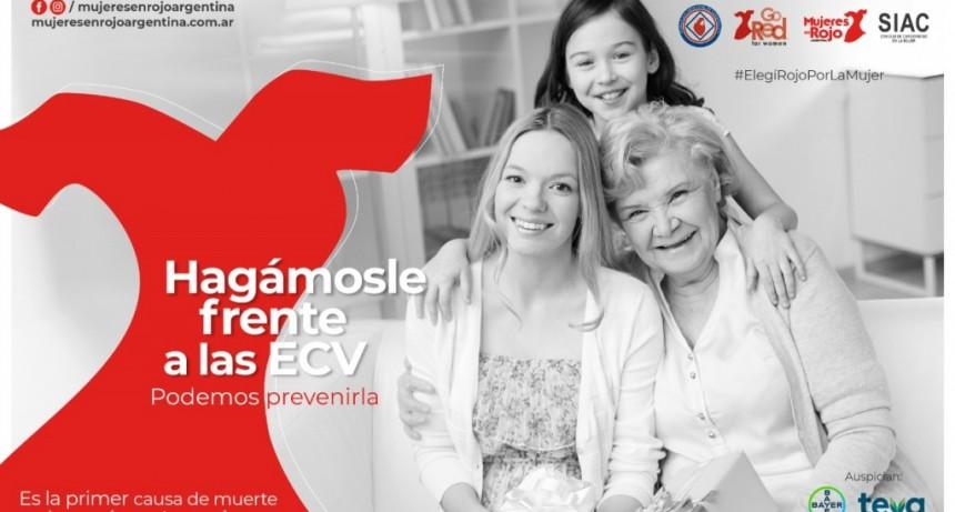Campaña Nacional por la Salud Cardiovascular de la Mujer, del 26 de agosto al 26 de septiembre