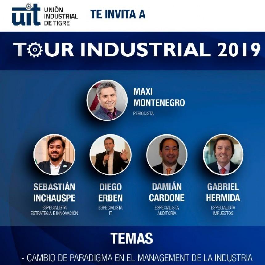 Tour Industrial 2019 en la Unión Industrial de Tigre