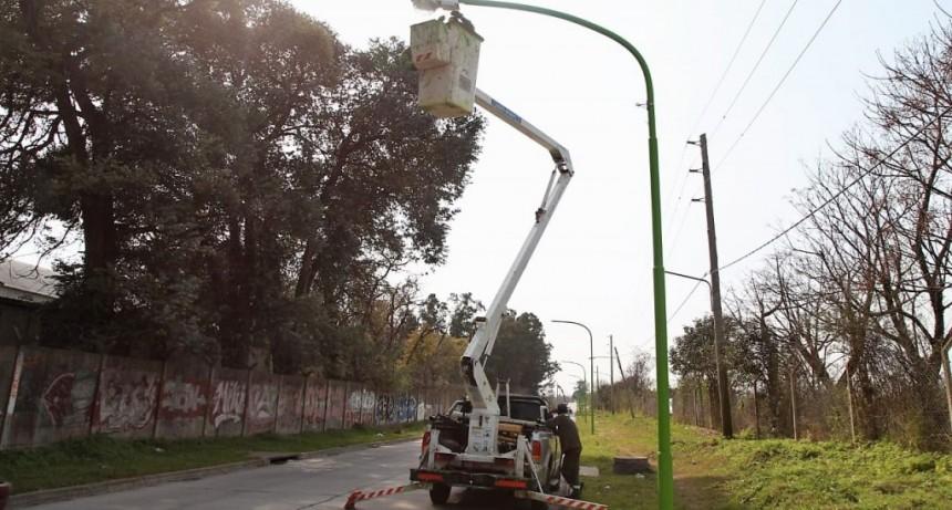 Por obras, la luminaria de la calle Bellomo estará fuera de servicio en algunos sectores