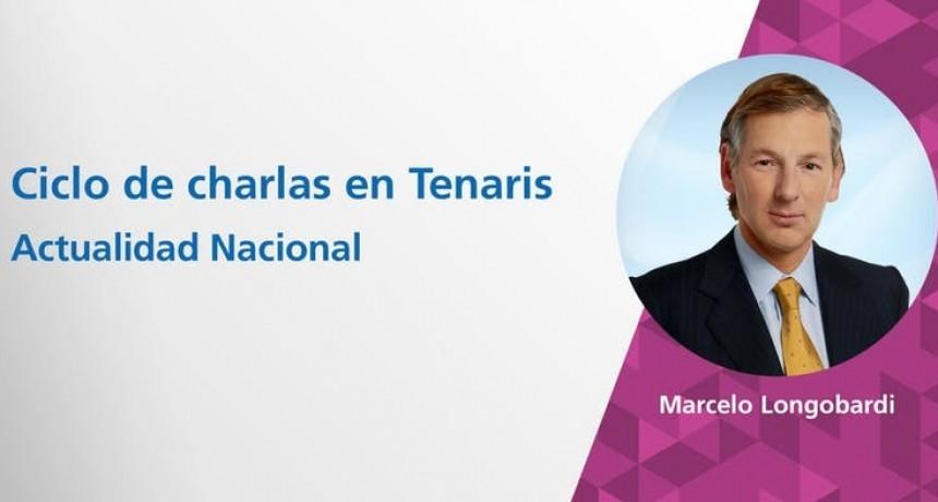 Marcelo Longobardi brindará una charla en el Auditorio de Tenaris