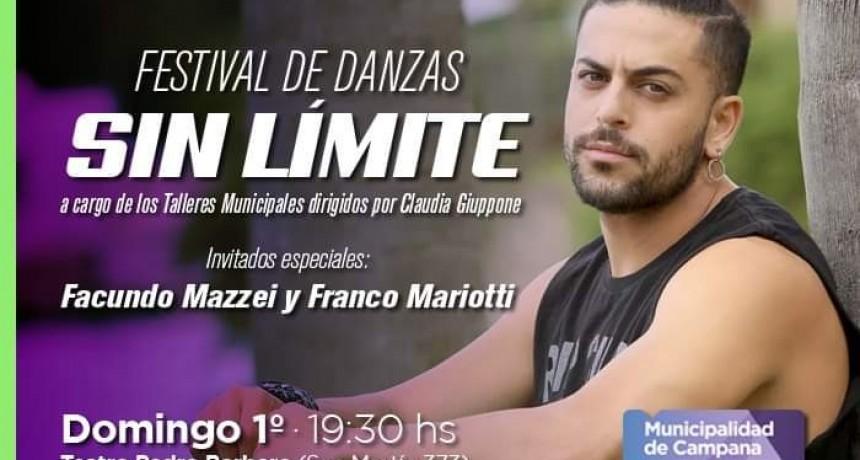 """Este domingo se realizará el festival de danzas """"Sin Límite"""""""