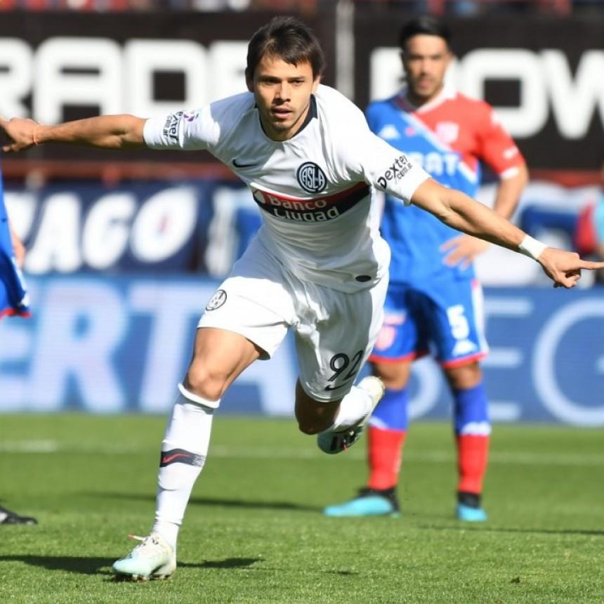 San Lorenzo de Almagro le ganó a Unión de Santa Fe por 2 a 1
