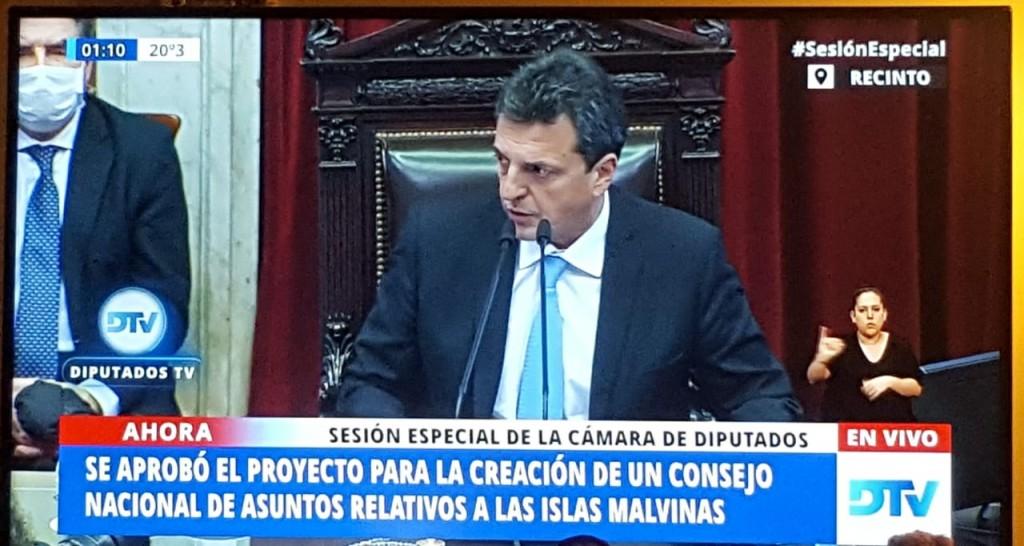 La Cámara de Diputados aprobó el proyecto que establece la nueva demarcación del límite exterior de la plataforma argentina