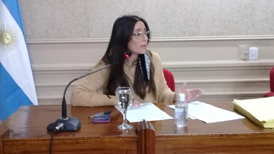 Casaretto remarcó la importancia de respetar protocolos sanitarios en el HCD