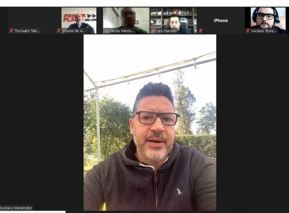 La Asociación de Periodistas que integramos tuvo un zoom con 4 Intendentes de la Provincia de Buenos Aires