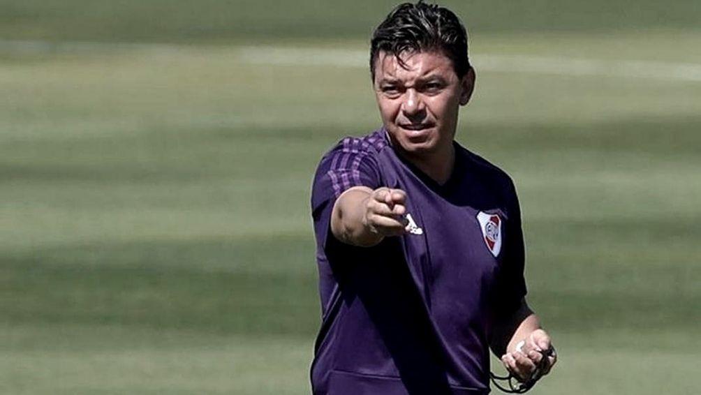 River Plate sigue realizando las prácticas con protocolo en River Camp