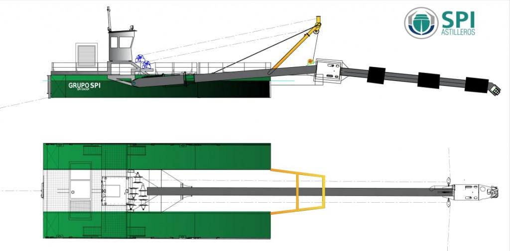 SPI Astilleros realizará una importante inversión en Campana para la construcción de una draga nacional
