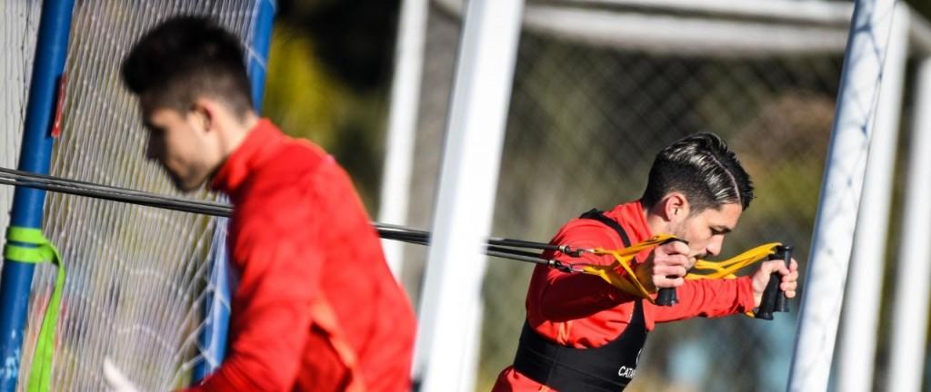 PREDIO DE AFA EN EZEIZA : Arrancó la tercera semana para San Lorenzo