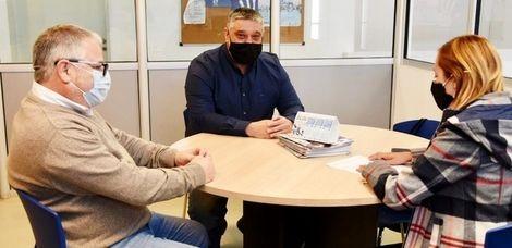 Carlos Ortega y la Concejal Romina Carrizo visitaron la UDAI CAMPANA de ANSeS