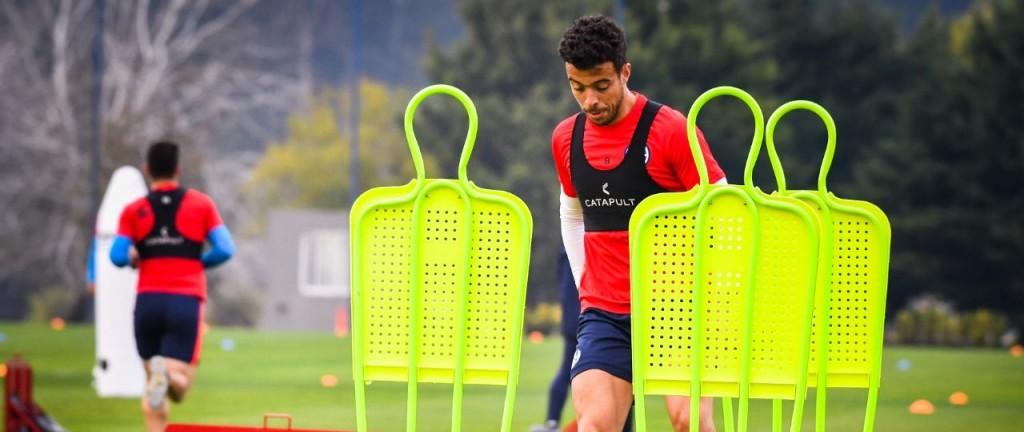 Otra jornada de entrenamiento en Ezeiza