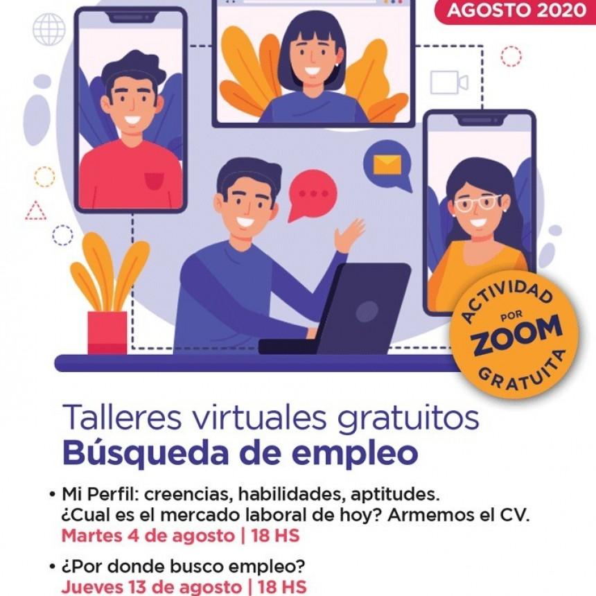 La semana próxima comienzan los talleres virtuales gratuitos de búsqueda de empleo
