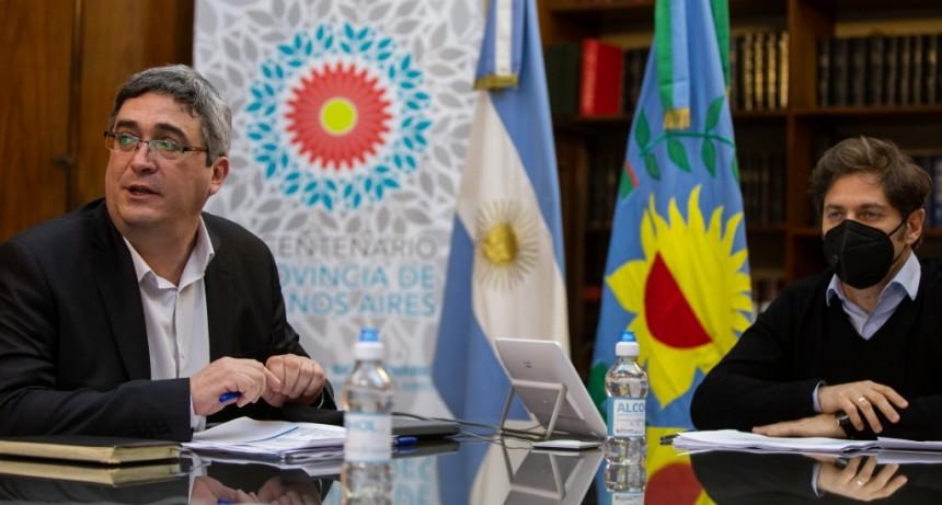 Kicillof encabezó el encuentro de la Mesa Agropecuaria Provincial