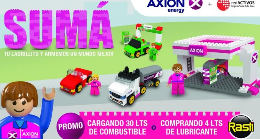 AXION energy lanza en el mes del niño una promoción muy especial