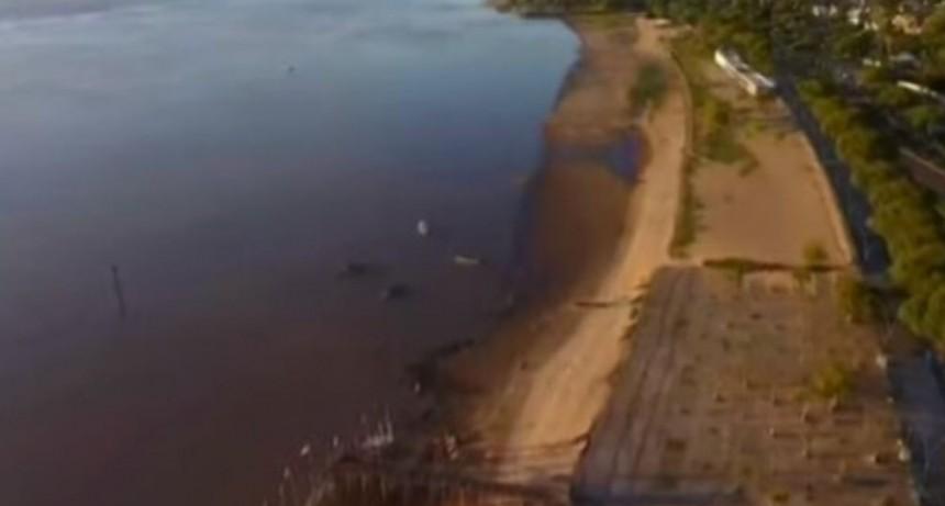 La bajante del río Paraná se acerca al mínimo histórico de los últimos 50 años