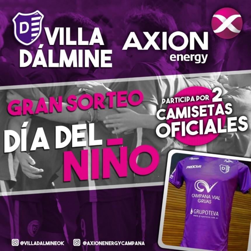Villa Dálmine junto a Axion Energy celebran el Día del Niño