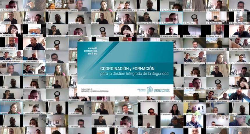 """Ciclo Coordinación y Formación para la Gestión Integrada de la Seguridad"""" con los municipios"""