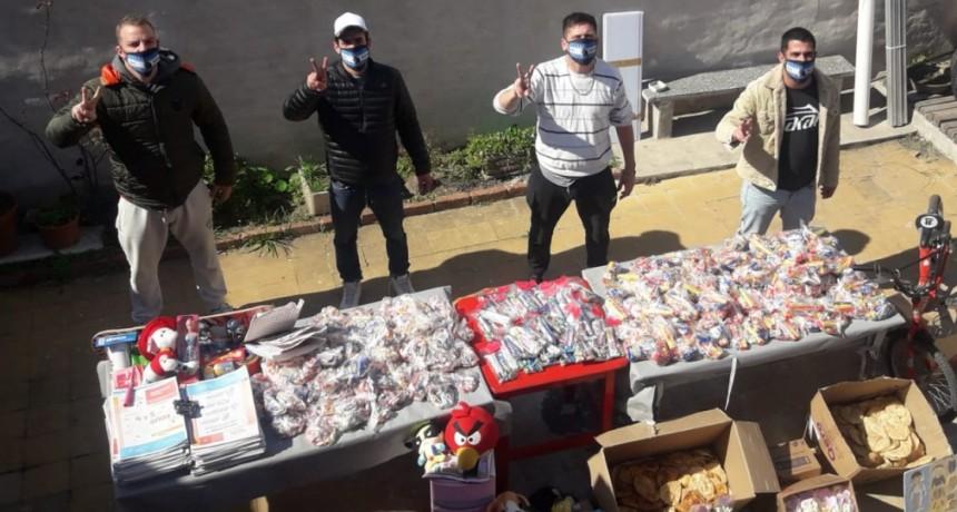 Día de la niñez: La Agrupación Saúl Ubaldini celebró en distintos barrios