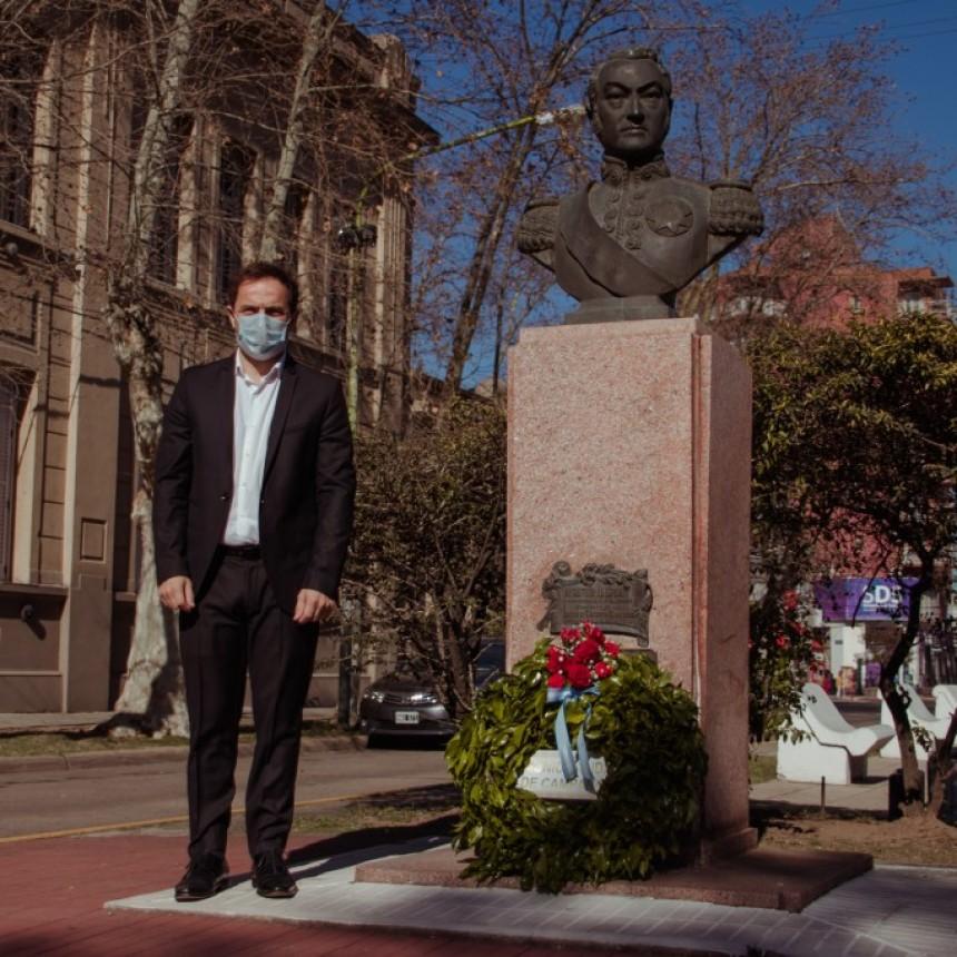 Campana recordó al general San Martín a 170 años de su paso a la inmortalidad