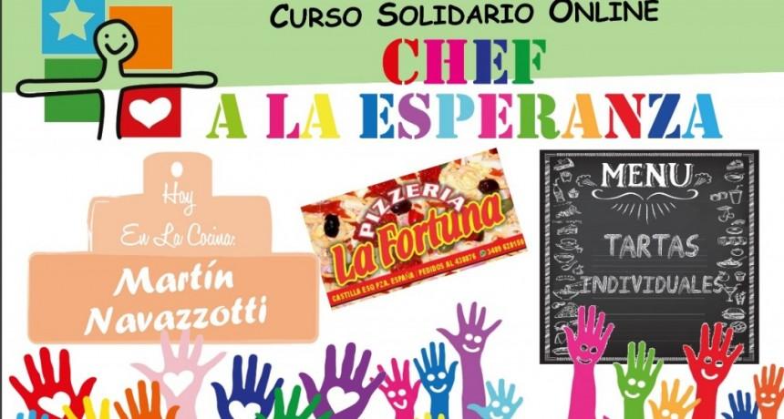 Para colaborar con el GRUPO ESPERANZA : curso solidario online del Chef Martín Navazzotti
