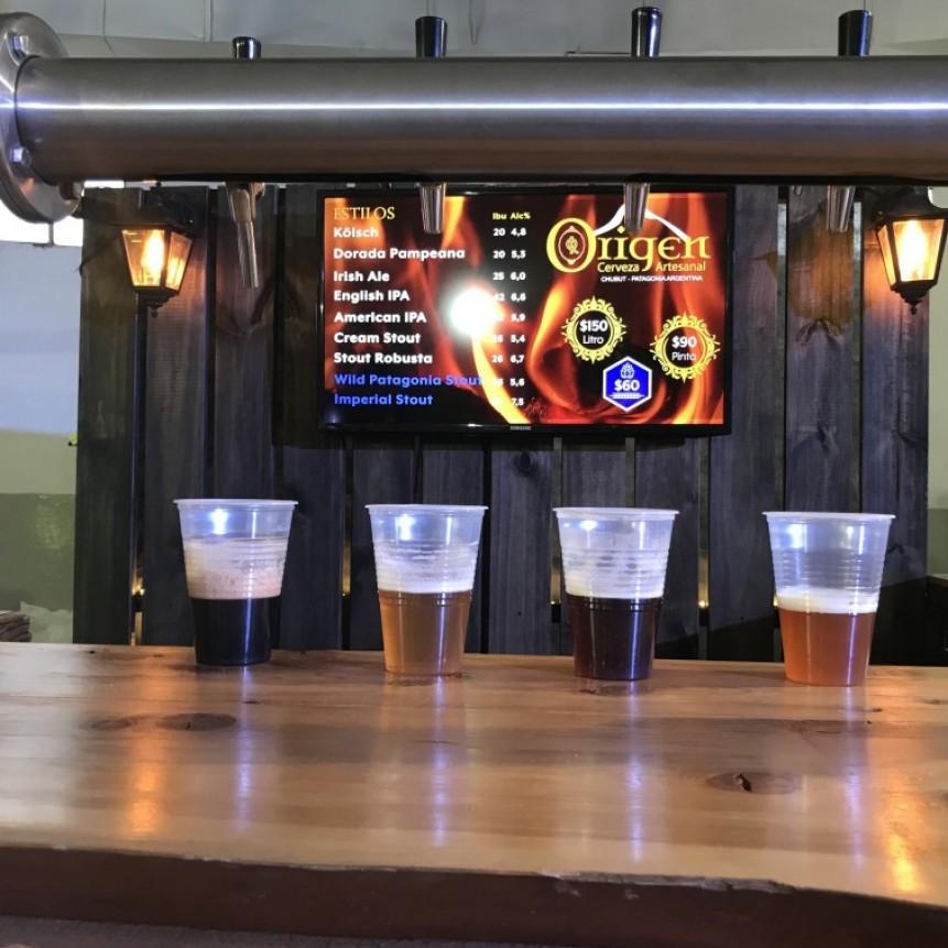 La cerveza de Esquel: una bebida que se nutre del paisaje que la cobija
