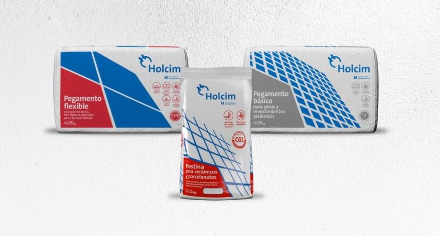 Holcim lanza tres nuevos productos cementicios para cerámicos y porcelanatos