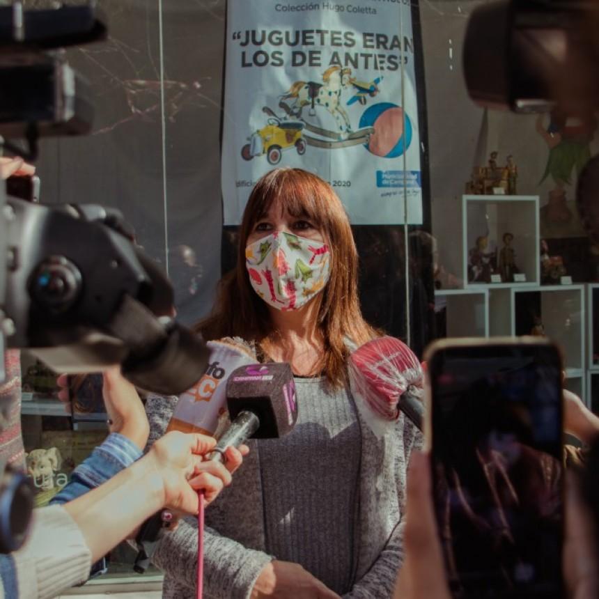 Silos de la Costanera: Nancy Bianchi lamentó las palabras de un artista local