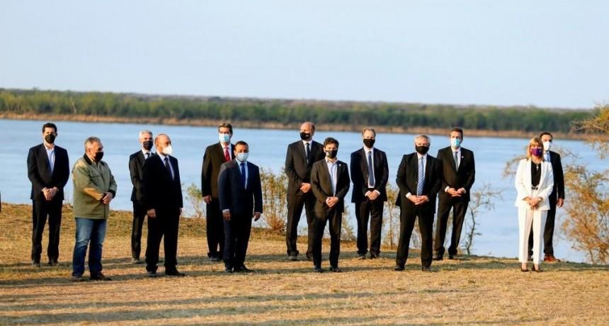 La provincia de Buenos Aires adhirió al Acuerdo Federal de la Hidrovía Paraguay-Paraná