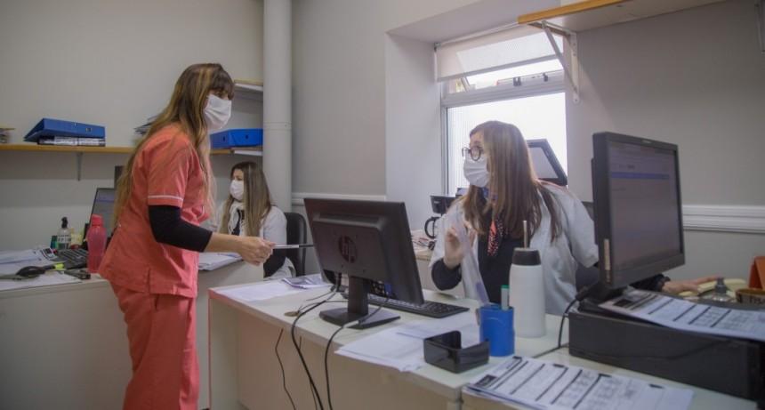 El equipo de epidemiología del hospital municipal al frente de la batalla contra el Covid-19